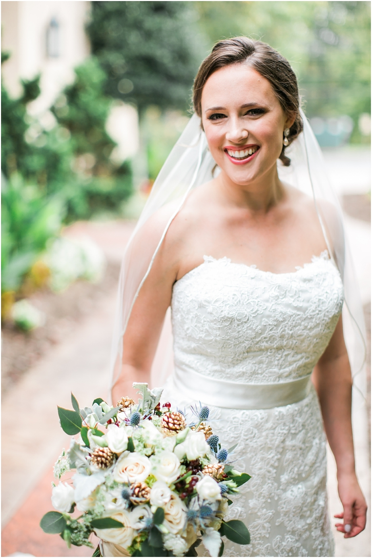 Photos of Bride Roswell Mill Wedding