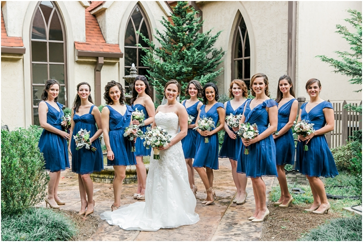 Bridal Party Photos Catholic Church of St. Ann