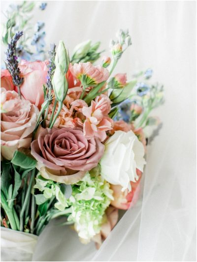 Dusty Rose Wedding Bouquet
