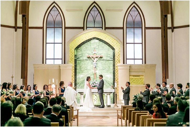 Catholic Church of St. Ann Wedding