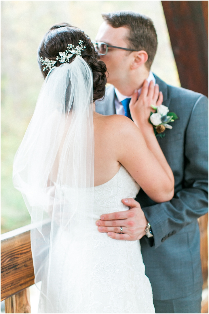 Romantic Wedding Photos at Roswell Mill