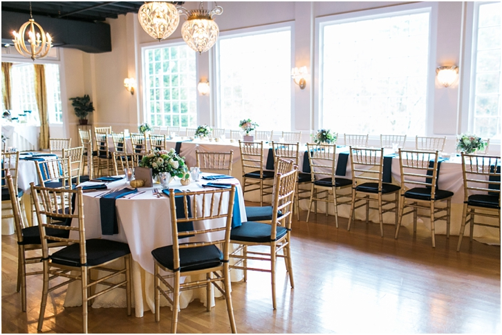Roswell Mill Wedding Reception Decor