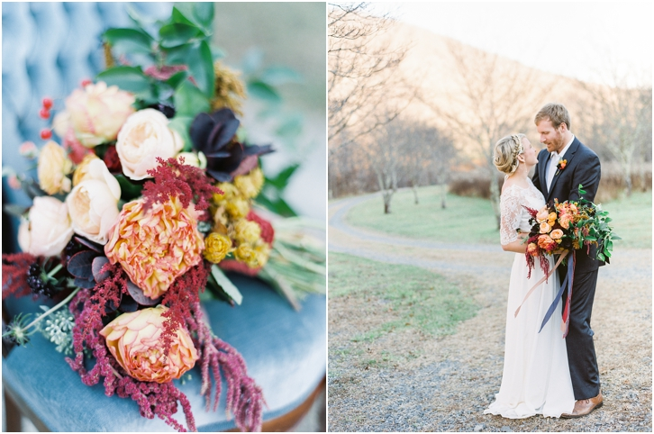 Romantic Jewel Tone Wedding Inspiration