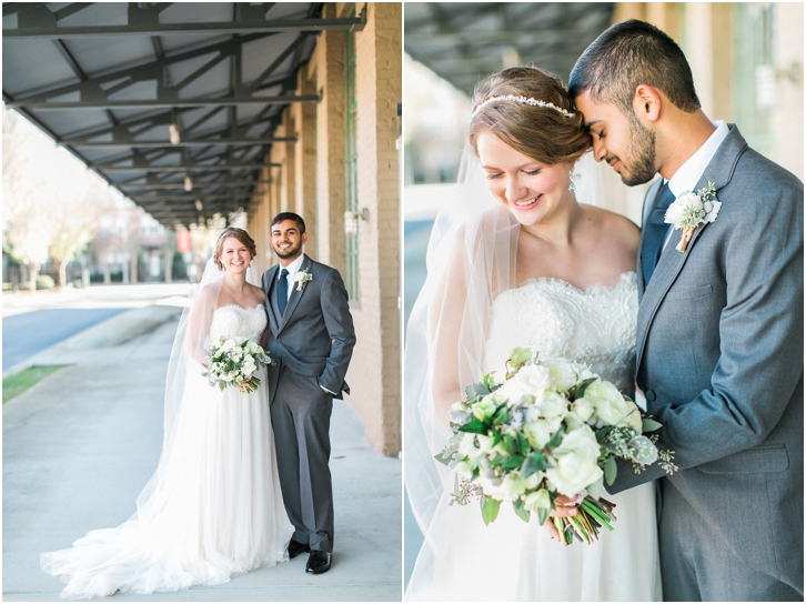 Bride and Groom Photos at The Foundry Atlanta