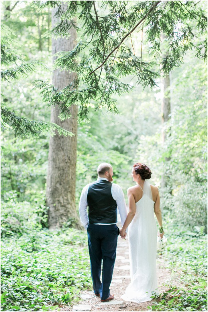 Romantic Garden Wedding Atlanta Georgia