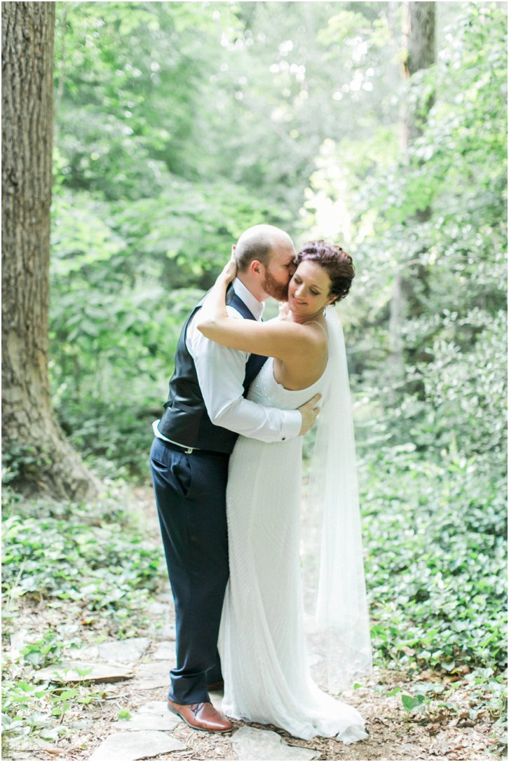 Romantic Woodsy Wedding Inspiration Atlanta Georgia