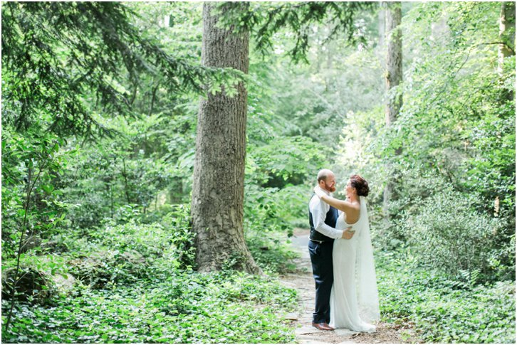 Romantic Woodsy Wedding Inspiration Georgia
