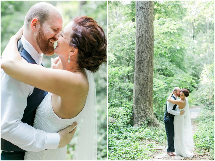 Romantic Light Wedding Photos