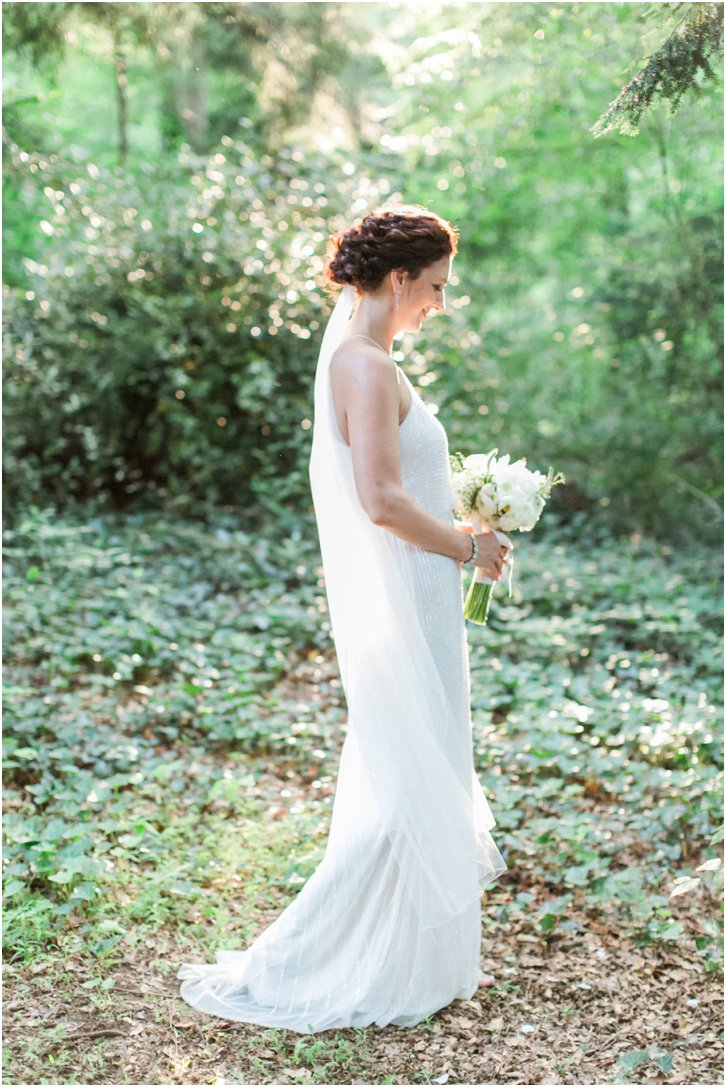 Romantic Bridal Pictures with beautiful light Cator Woolford Gardens