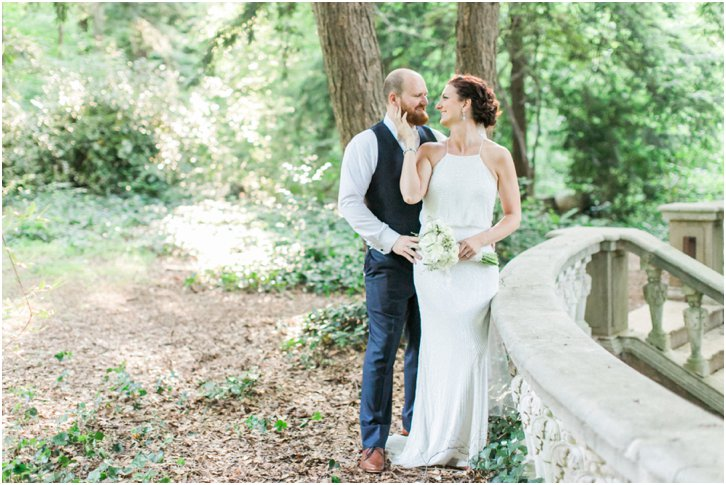 Romantic Wedding Photos Cator Woolford Gardens