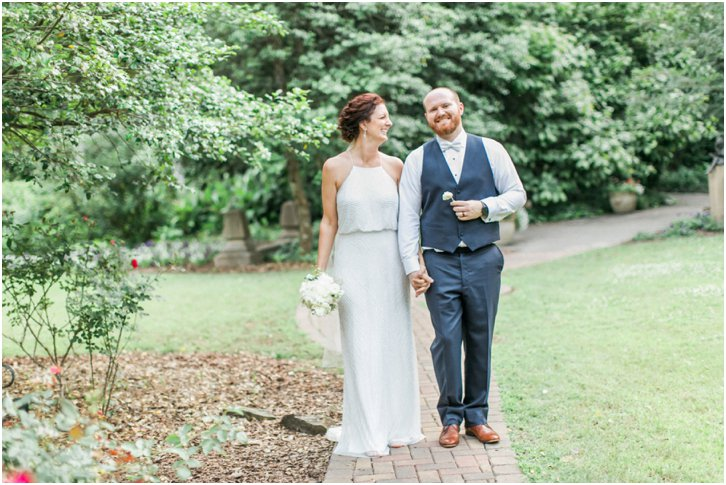 Romantic Elopement Photos Cator Woolford Gardens