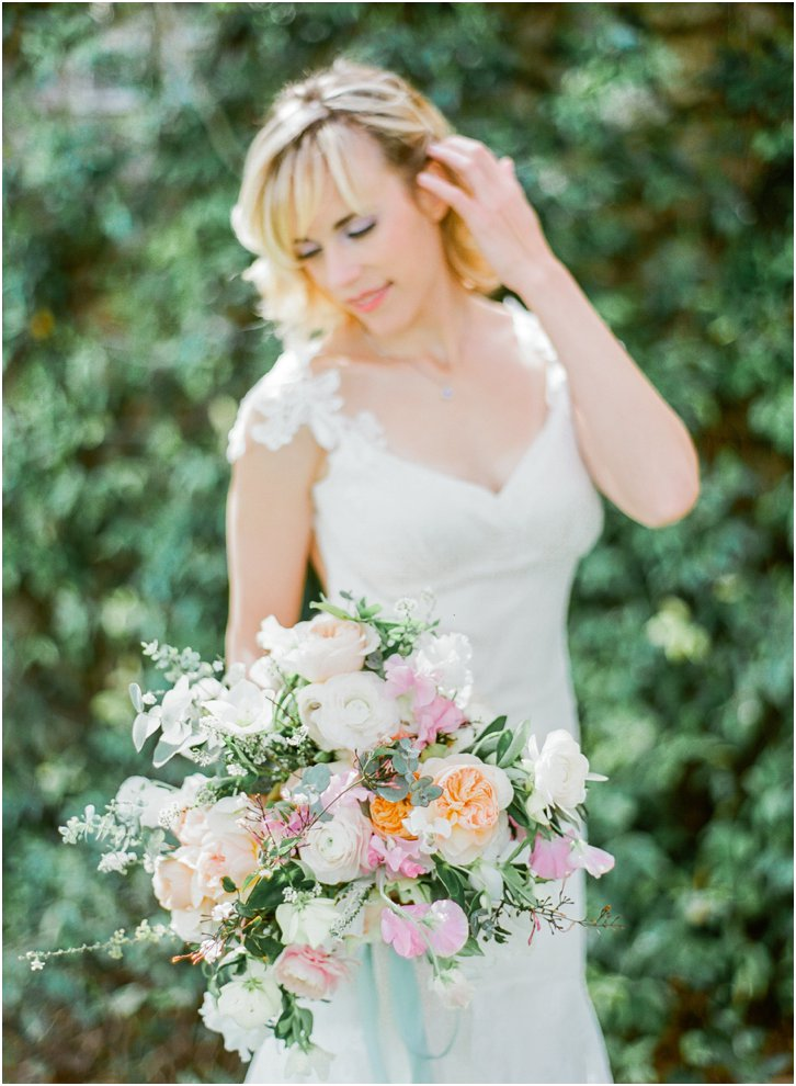 Organic Bridal Bouquet Ideas by Amy Osaba