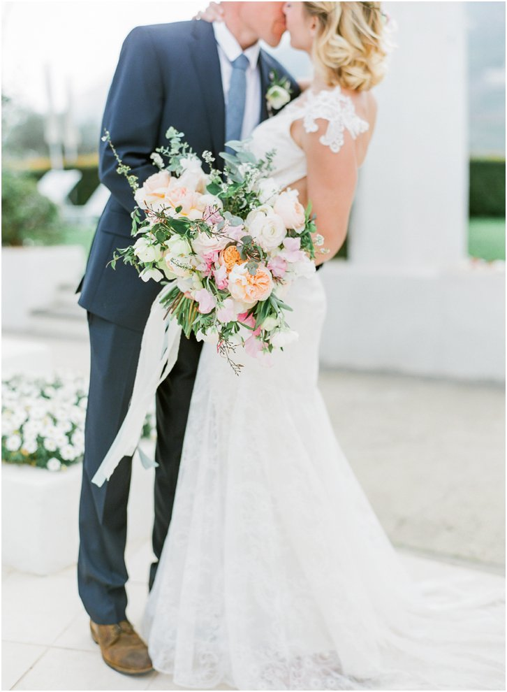 Amy Osaba Bouquet Italy Wedding
