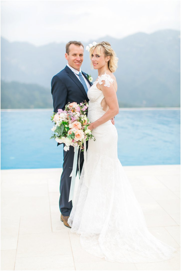 Romantic Wedding Photos Belmond Caruso Almafi Coast