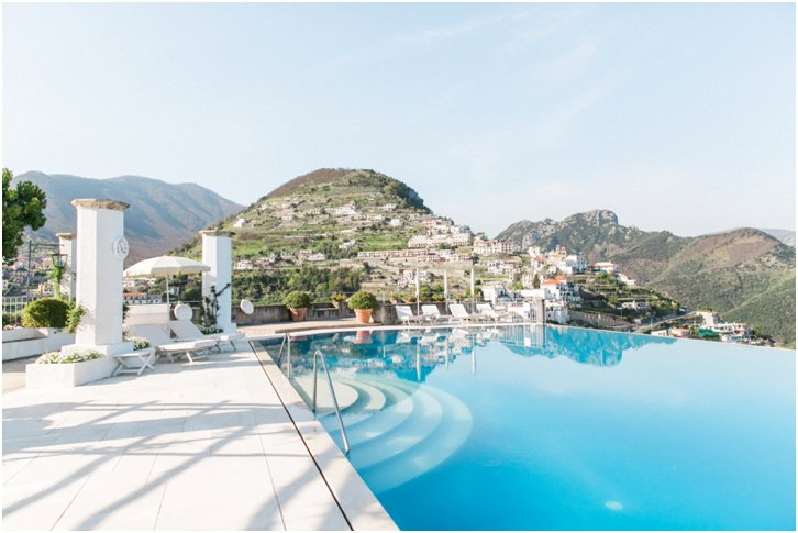 Belmond Caruso Pool Photos