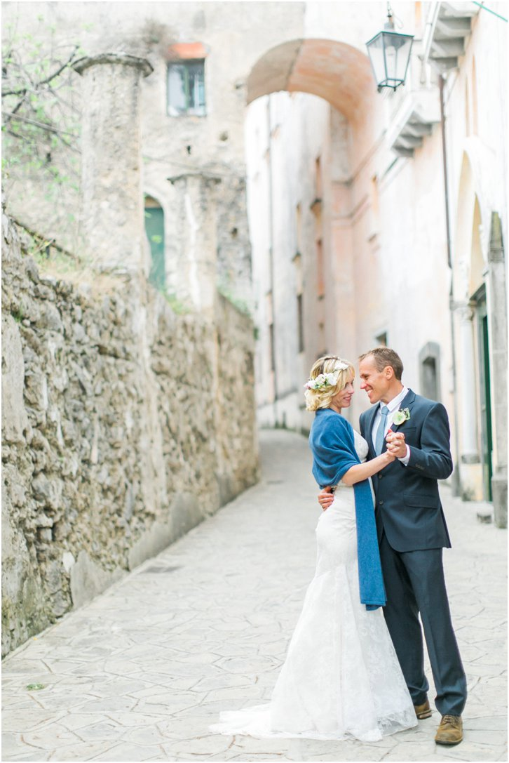 Romantic Italian Wedding Photos