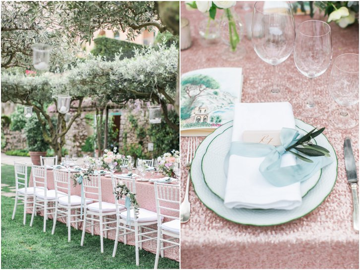 Romantic Garden Almafi Coast Wedding