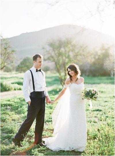 Romantic Film Wedding Photos California