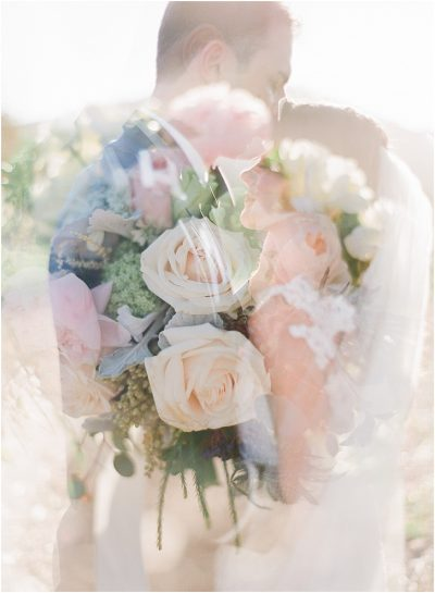Film Wedding Photography Double Exposure