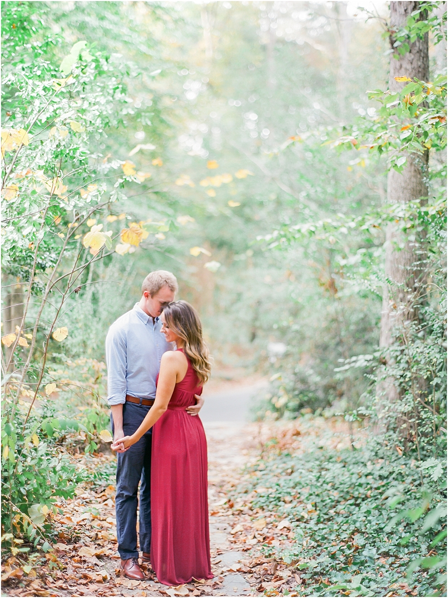 Atlanta Fall Engagement Photos 0033
