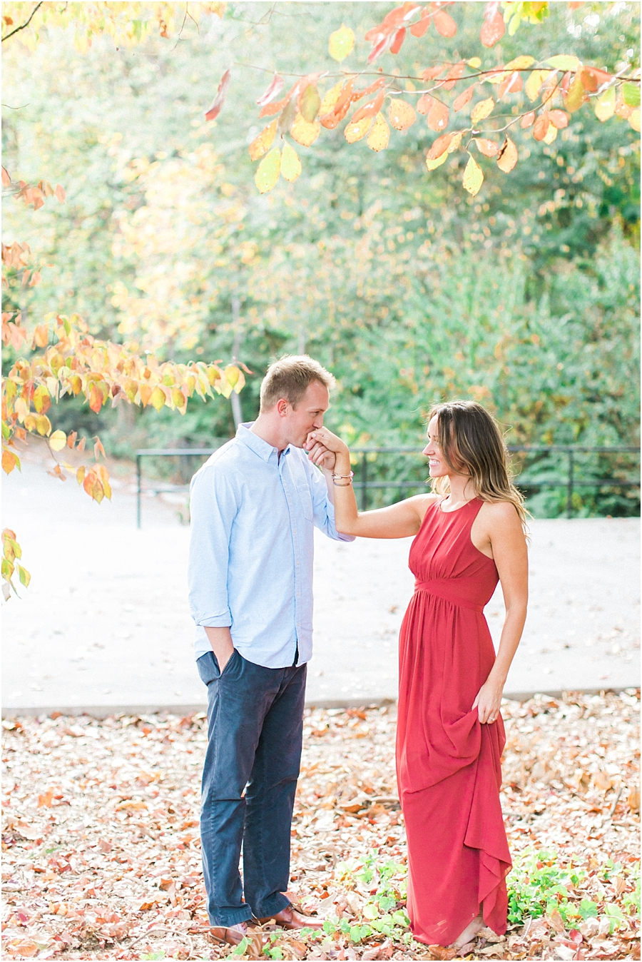 Atlanta Fall Engagement Photos 0035