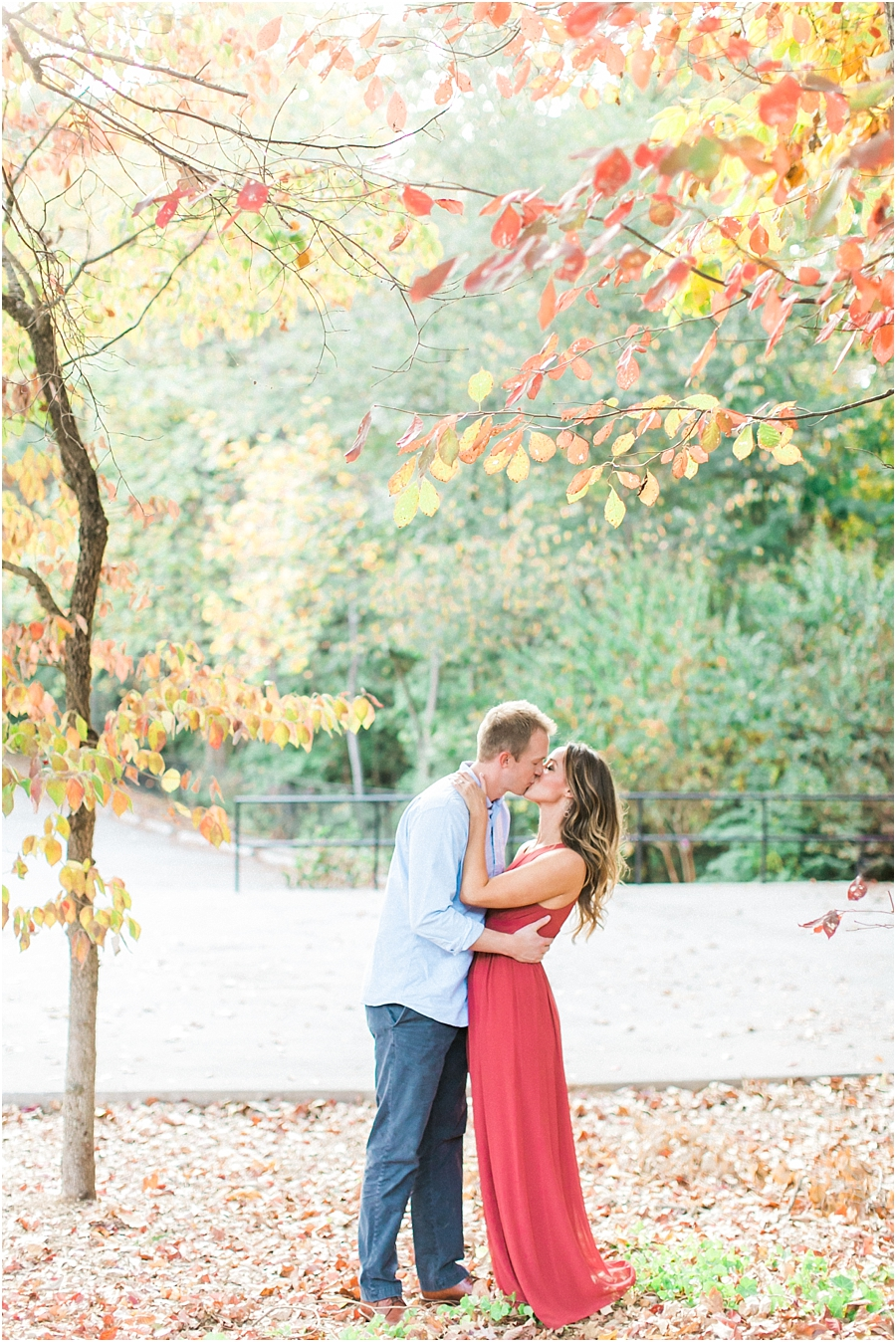 Atlanta Fall Engagement Photos 0036