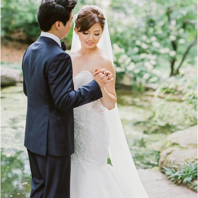 Romantic Four Seasons Atlanta Wedding