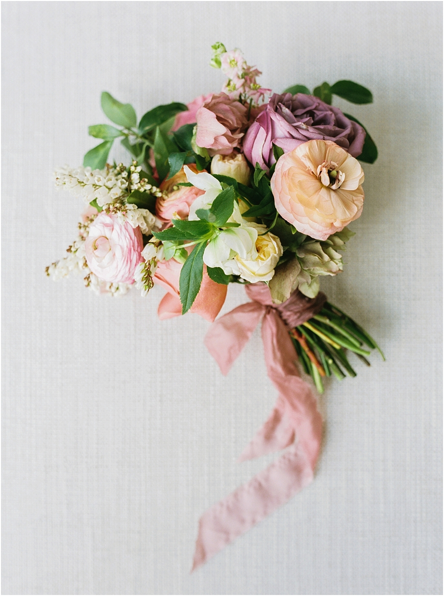 Amy Osaba Bridesmaid Bouquet