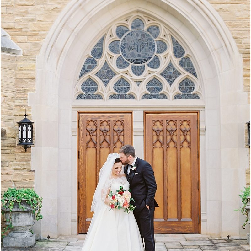 The Cathedral of St. Philip Fall Wedding Photos