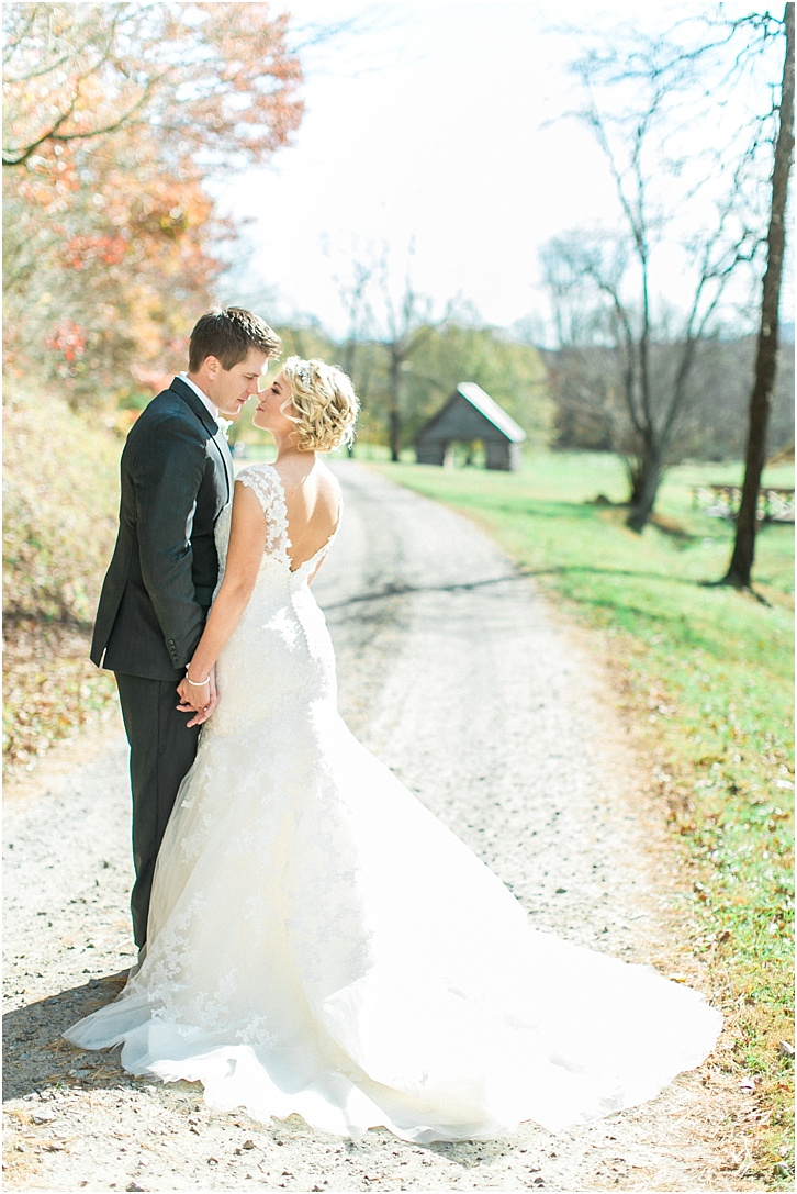 Romantic Wedding Photos McGuire's Millrace Farm