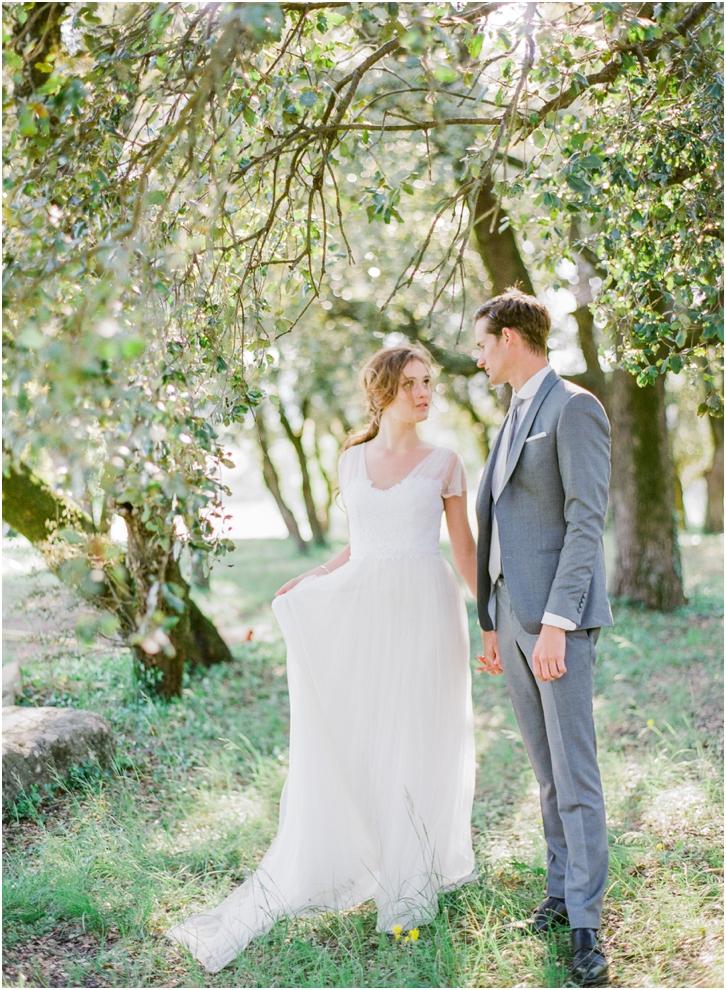 Romantic French Wedding Photos