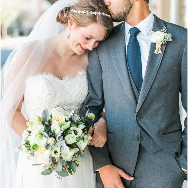Romantic Bride and groom photos atlanta