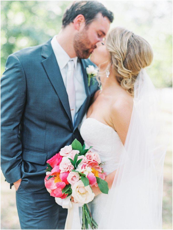 Bride and Groom Film Wedding Photos