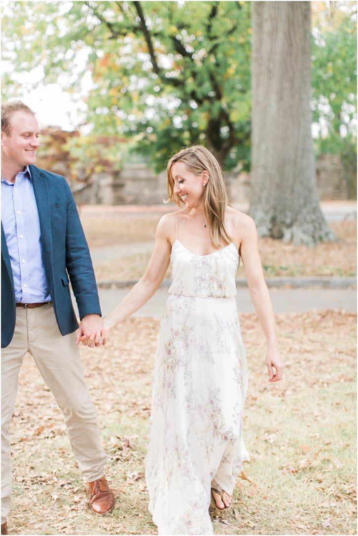Sweet Engagement Photos Atlanta