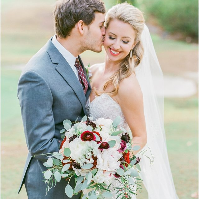 Romantic Wedding Photos at Country Club of the South