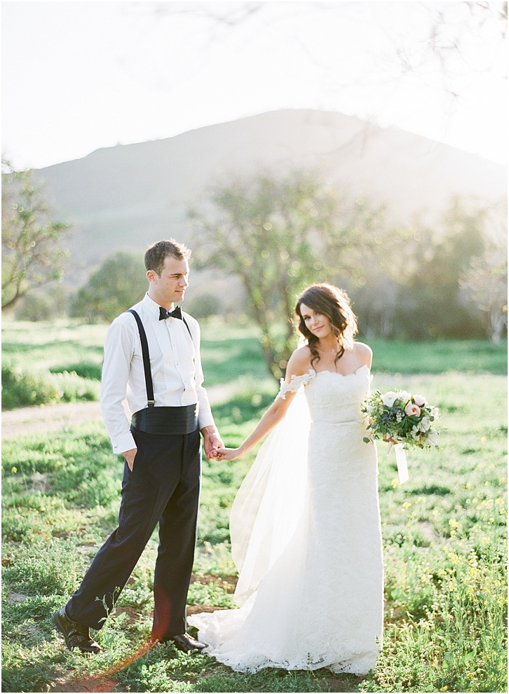 Romantic Film Wedding Photos California