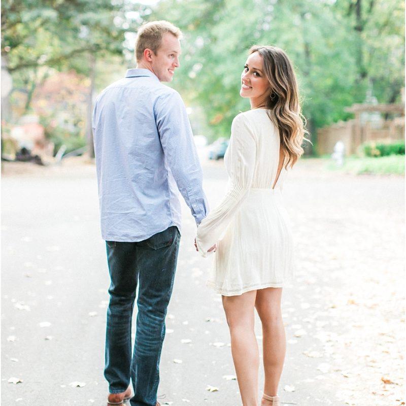 Romantic Film Engagement Photos Atlanta
