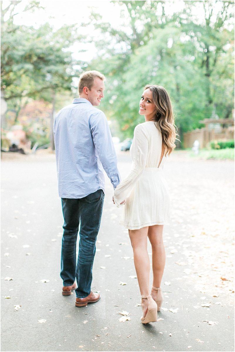 Atlanta Fall Engagement Photos 0001