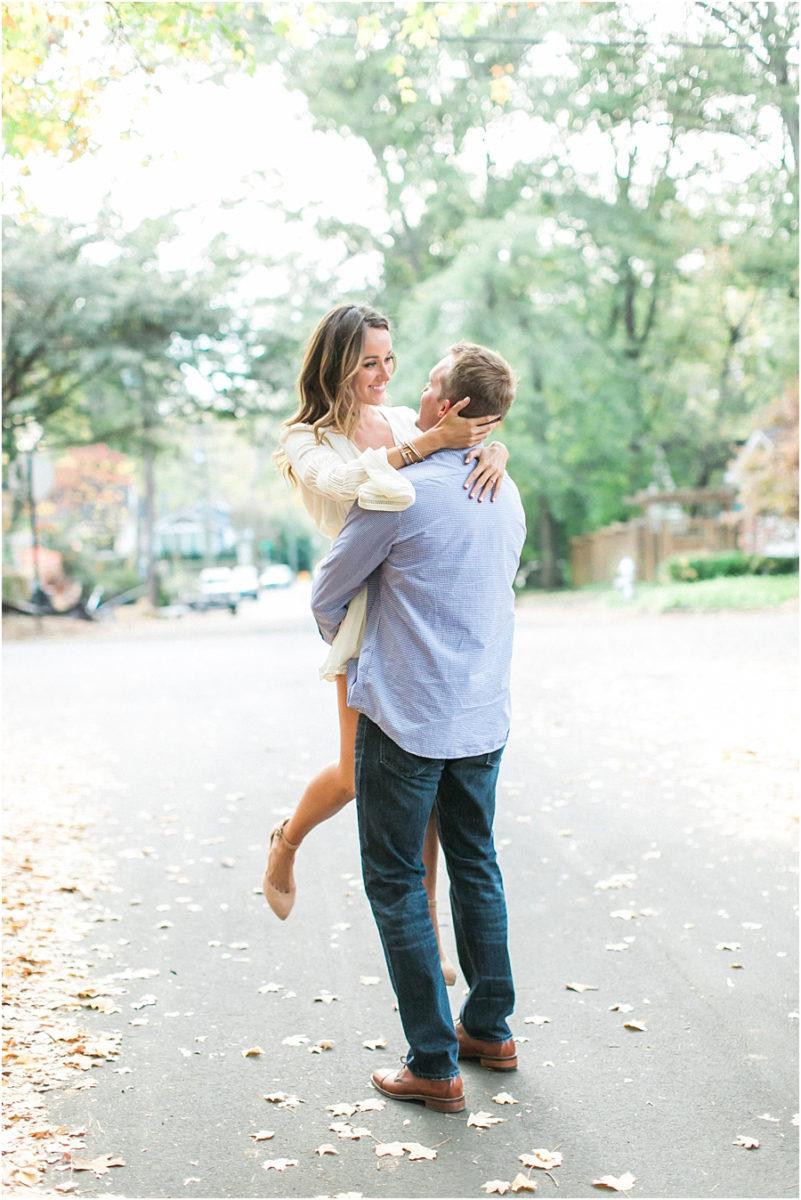 Atlanta Fall Engagement Photos 0005