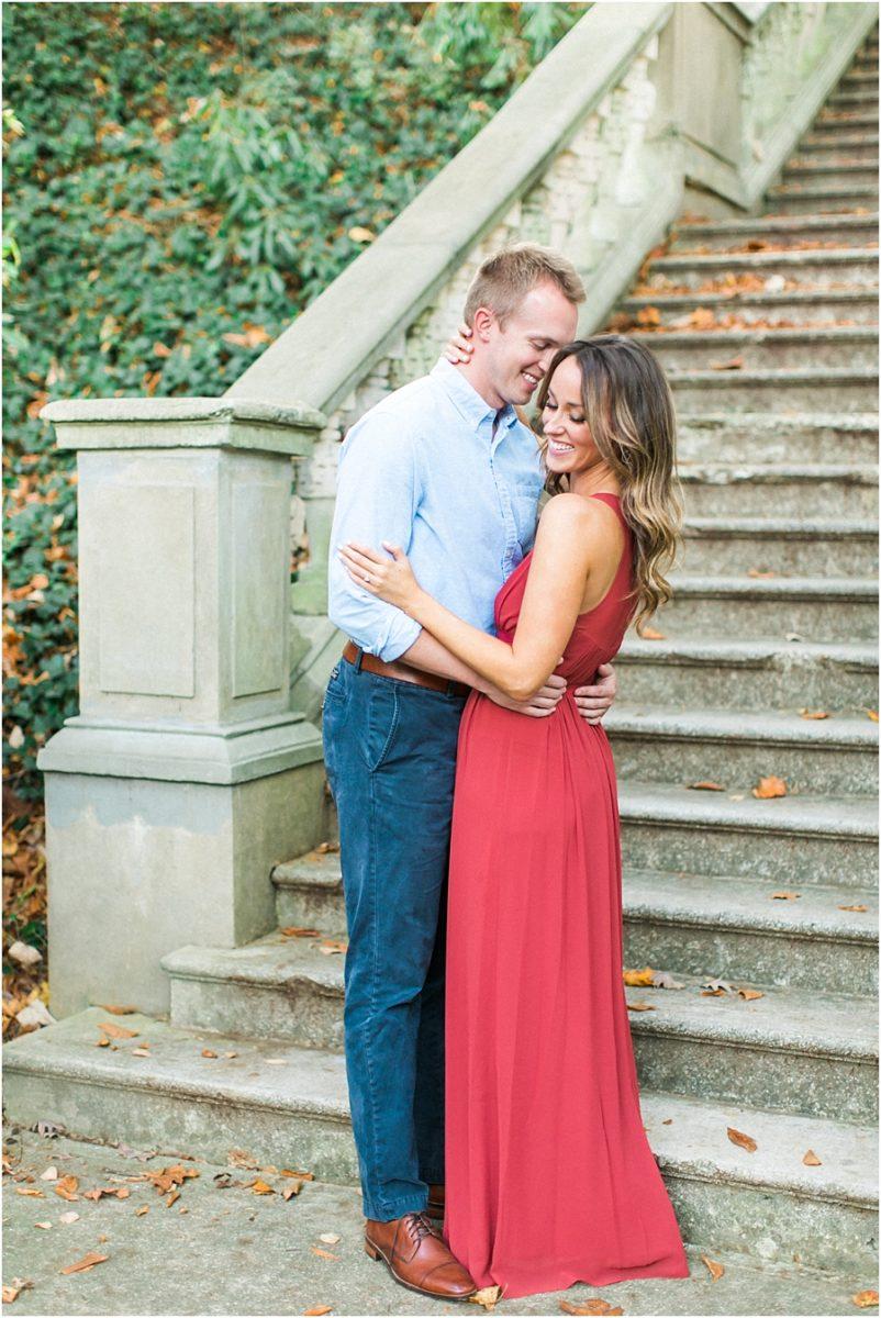Atlanta Fall Engagement Photos 0021