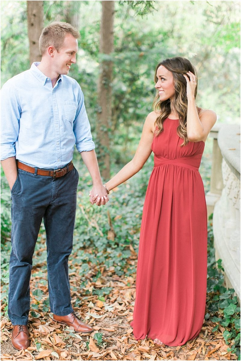 Atlanta Fall Engagement Photos 0024
