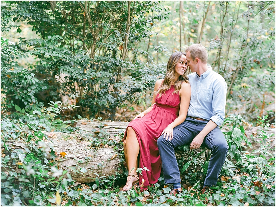Atlanta Fall Engagement Photos 0026