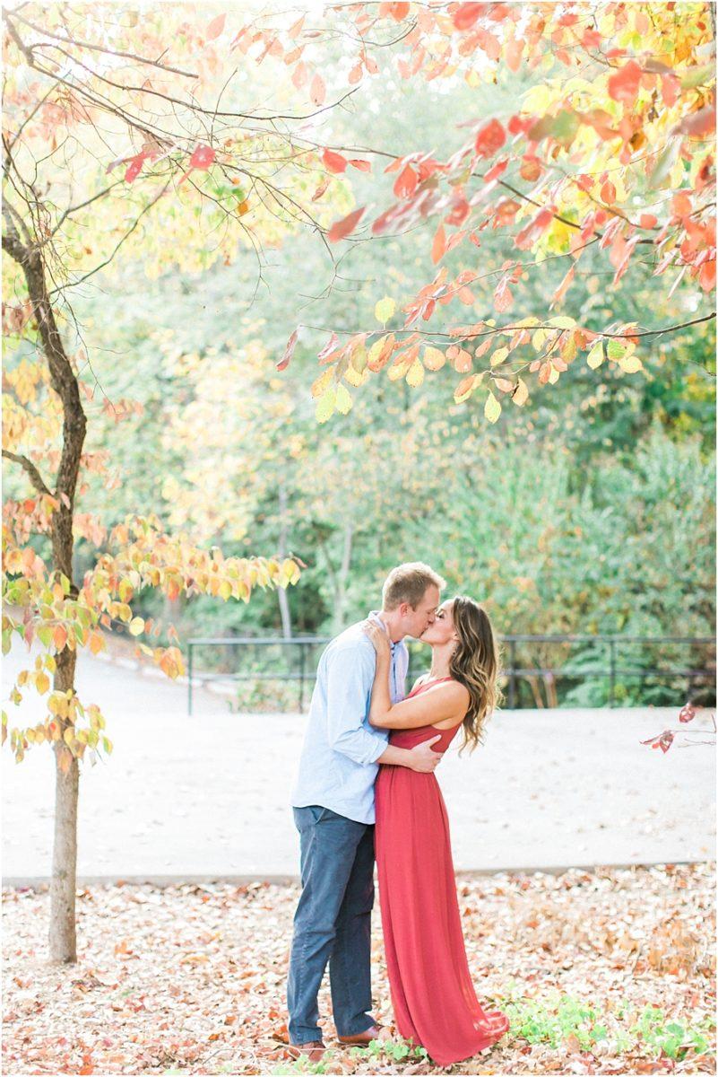 Atlanta Fall Engagement Photos 0036