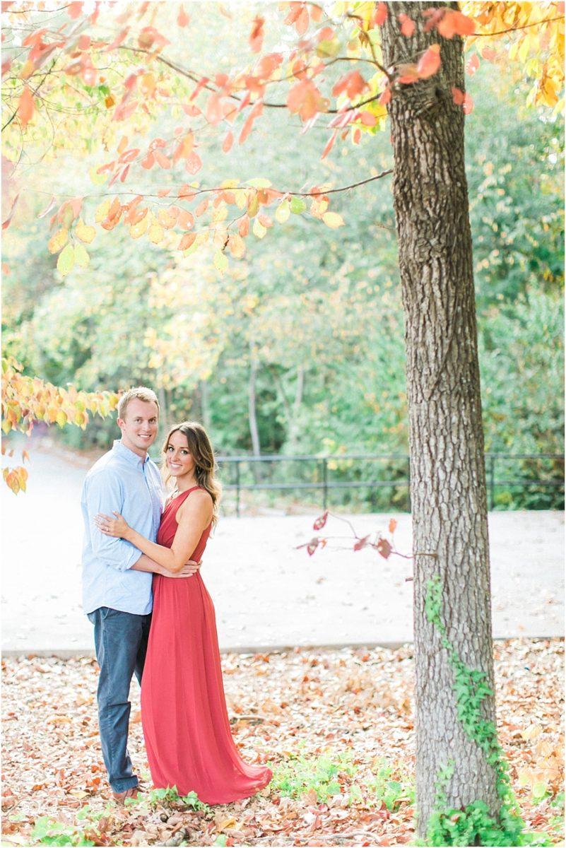 Atlanta Fall Engagement Photos 0037