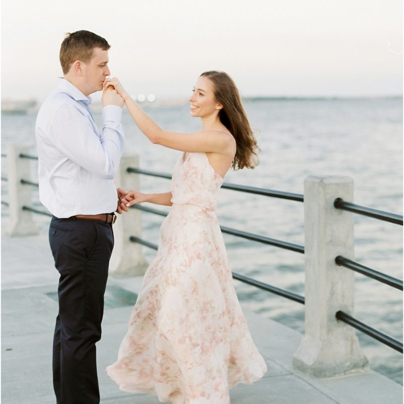 Nautical Engagement Photo Ideas Charleston