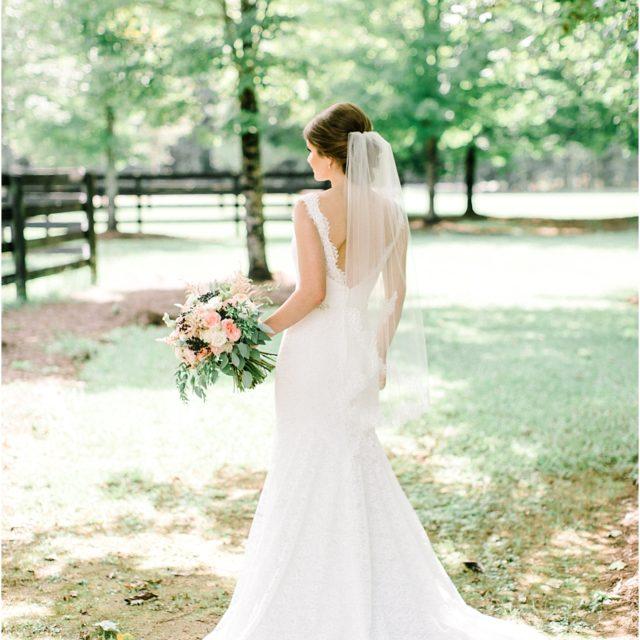 Low back wedding gown ideas Foxhall Wedding